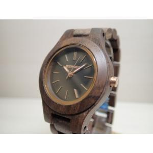 木の腕時計 ウィーウッド WEWOOD 腕時計 ウッド/木製 ANTEA CHOCOLATE  9818128 レディース (正規輸入品) yuubido-oyabu