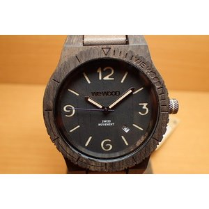 ウィーウッド WEWOOD 腕時計 ウッド/木製 ALPHA SW BLACK ROUGH 9818143 メンズ (正規輸入品) yuubido-oyabu