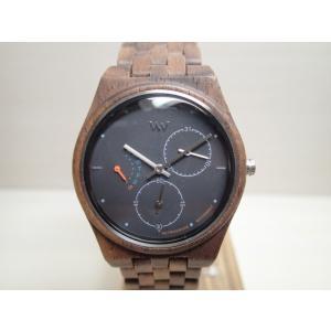 木の腕時計 ウィーウッド WEWOOD 腕時計 ウッド/木製 RIDER NUT BLACK 9818197 ブラック文字盤 レディースサイズ バネ式両開きバックル (正規輸入品) yuubido-oyabu