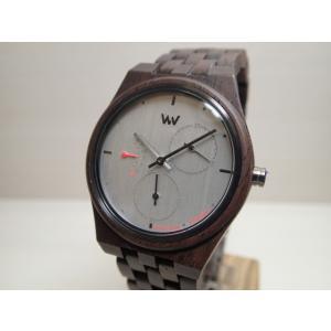 木の腕時計 ウィーウッド WEWOOD 腕時計 ウッド/木製 RIDER NUT BLACK 9818198 グレー文字盤 レディースサイズ バネ式両開きバックル (正規輸入品) yuubido-oyabu