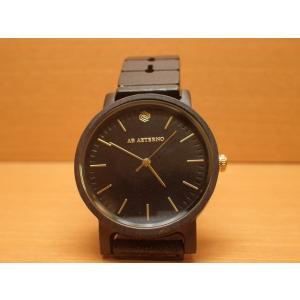 アバテルノ AB AETERNO 腕時計 ハーモニーコレクション ウッドウオッチ ECLIPSE エボニーウッド 35mm (正規輸入品) MADE IN ITALY|yuubido-oyabu