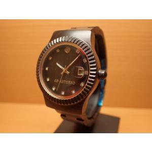 アバテルノ AB AETERNO 腕時計 SKY COLLECTION ブラックサンダルウッド TEMPESTA 9825023 レディース (正規輸入品) MADE IN ITALY|yuubido-oyabu