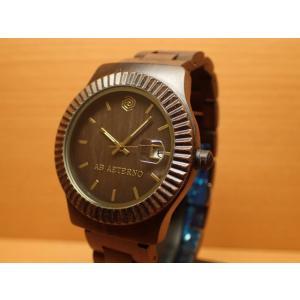 アバテルノ AB AETERNO 腕時計 SKY COLLECTION ブラックサンダルウッド STORM 9825025 メンズ (正規輸入品)  MADE IN ITALY|yuubido-oyabu
