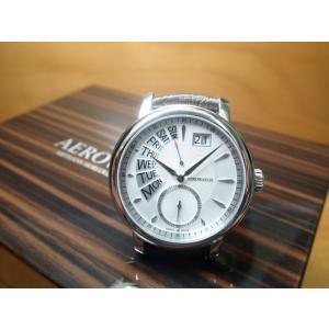 アエロ ウォッチ レトログラード ビッグデイト 腕時計 AERO WATCH Renaissance A46941AA01AERO WATCH アエロ ウォッチ|yuubido-oyabu
