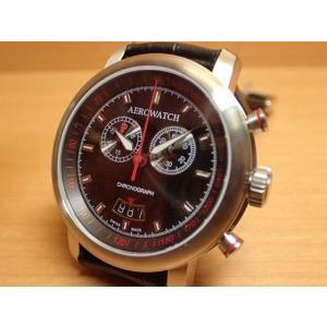 アエロ ウォッチ クロノグラフスポーツ 電池式 腕時計 AERO WATCH Chronograph Sport A87936AA01AERO WATCH アエロ ウォッチ|yuubido-oyabu