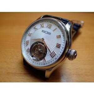 メモリジン MEMORIGIN 腕時計 トゥールビヨン MEMORIGIN Orbit 自動巻き式 オートマチック マニュファクチュール トゥールビヨン AT0221SSWHBKR|yuubido-oyabu