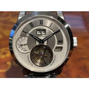 メモリジン MEMORIGIN 腕時計 トゥールビヨン MEMORIGIN Grand Series グランド マニュファクチュール トゥールビヨン AT1003SSWHBKR|yuubido-oyabu