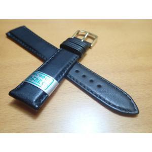 16mm〜20mm 時計バンド (腕時計) ベルト カーフ 牛革 バネ棒 サービス 黒 ブラック 腕時計用 時計ベルト 時計用バンド|yuubido-oyabu