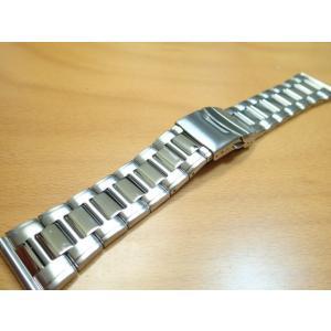 24mm時計バンド(腕時計)ベルト24ミリ ステンレススチール ブレスレット メタル バンド ベルト 時計ベルト・バンド バネ棒 サービス付き 24mm  時計ベルト|yuubido-oyabu