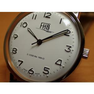 f1c19d8811 FHB エフエイチビー 腕時計 クラシックフレアーシリーズ Classic Flair Series F908SW-BK  (正規輸入品)「ヴィンテージベーシック」由緒ある腕時計の基本形