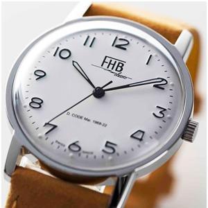 7256c089c9 FHB エフエイチビー 腕時計 クラシックフレアーシリーズ Classic Flair Series F908SW-NYE  (正規輸入品)「ヴィンテージベーシック」由緒ある腕時計の基本形