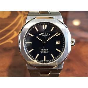 ロータリー 腕時計 ROTARY REGENT リージェント ネイビー文字盤 GB05410/05 ...