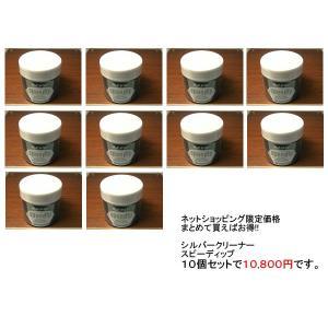 シルバー磨き 液体シルバー磨き 元祖スピーデップ すばらしいの一言 十個セット yuubido-oyabu