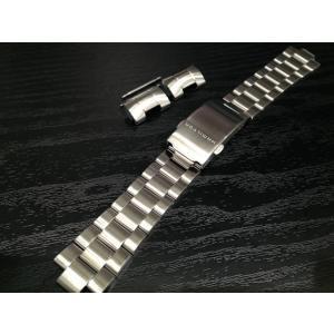 ハミルトン HAMILTON  カーキネイビー GMT エアレース 専用 メタルブレスレット 21mm 腕時計バンド ベルト メタルバンド H605776100 yuubido-oyabu
