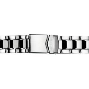 トレーサー Traser 腕時計 純正 ナビゲーター専用 メタルブレスレット バンド ベルト バネ棒つき SILVER シルバー(正規輸入品)22mm|yuubido-oyabu