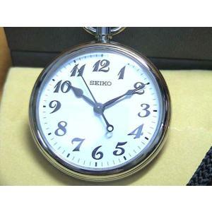 セイコー 腕時計( SEIKO )時計 セイコー 鉄道時計 懐中時計 ポケットウォッチ オープンフェイス 電池式 (クォーツ) SVBR003|yuubido-oyabu