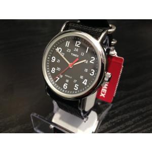 タイメックス TIMEX 腕時計 ウィークエンダー セントラルパーク ブラック×ブラック T2N647 (正規輸入品)|yuubido-oyabu