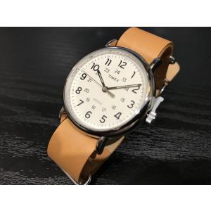 タイメックス TIMEX 腕時計 ウィークエンダー セントラルパーク ライトブラウンレザー T2P492 (正規輸入品)|yuubido-oyabu