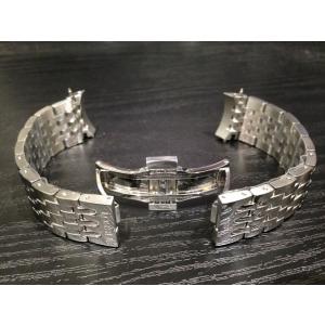 ティソ TISSOT 純正時計ベルト バンド ルロックル用 ステンレススチールブレスレット 19mm 腕時計用 時計ベルト 時計用バンド T605014109|yuubido-oyabu