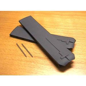 ティソ TISSOT T-タッチ用 純正 ラバー 時計バンド 時計ベルト 黒色 ブラック 20mm T610014614|yuubido-oyabu