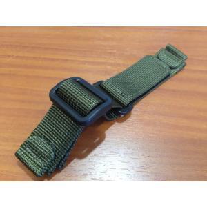 【あすつく】 ウェンガー WENGER  優美堂 腕時計 WENGER・ウェンガー ナイロン 時計バンド 時計ベルト・20mm・グリーン・正規代理店商品です|yuubido-oyabu