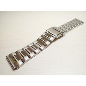 24mm 時計バンド(腕時計)ベルト24mm ステンレススチール ブレスレット メタル 時計ベルト・バンド バネ棒 サービス付き 24mm  時計ベルト|yuubido-oyabu