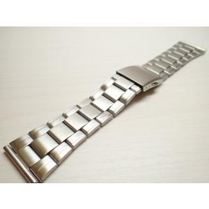 25mm 時計バンド(腕時計)ベルト25mm ステンレススチール ブレスレット メタル 時計ベルト・バンド バネ棒 サービス付き 25mm  時計ベルト|yuubido-oyabu