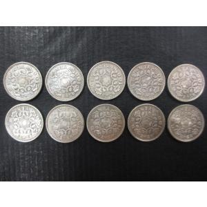 大人気!お買い得10枚セット 鳳凰100円銀貨 美品 昭和32・33年 (2年間のみ発行)
