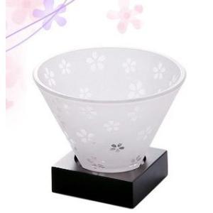 アジアンライト「さくら」/和柄 ガラス キャンドルホルダー【B】セール中!在庫限り!|yuukanoshizuku