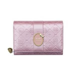 ハローキティ 二つ折り財布 レディース/かぶせ付中RF札入/HK24-3/さいふ/サイフ|yuukanoshizuku