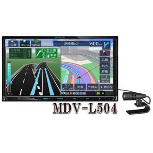 MDV-L504 4チューナー&4ダイバシティ方式  地上デジタルTVチューナー/Bluetooth内蔵  DVD/USB/SD AVナビゲーションシステム. ケンウッド|yuukanoshizuku
