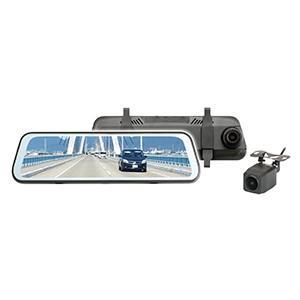 前後2つのカメラで高画質(200万画素)同時録画ができる『高性能ドライブレコーダー』 ◆デジタルイン...