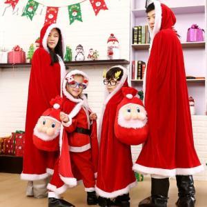 サンタ服 クリスマス 子供服 マント  サンタクロース コスプレ 赤ちゃん ベビー服 yuuki-store