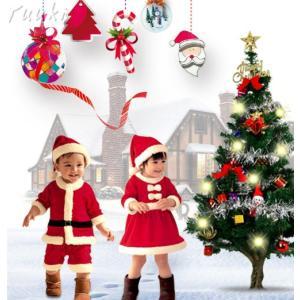 クリスマス衣装 子供 サンタ コスチューム キッズ 子供服 サンタクロース 帽子付き 女の子 男の子 クリスマス 衣装 キッズ サンタワンピース|yuuki-store
