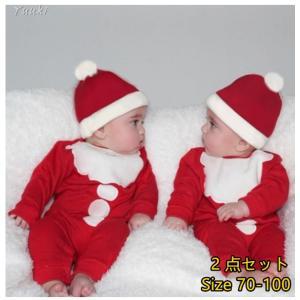 サンタ服 BABY2点セットセット 新生児ベビーセット女の子Tシャツトップス+ロングパンツBABYセット服|yuuki-store
