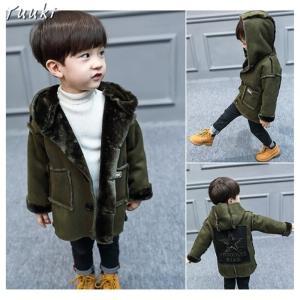 韓国 子供服 コート 男の子 フード付き ボアコート かわいい キッズ服 アウター 中綿ジャケット ...