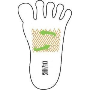 伝線しにくい!外反母趾・浮き指対策ストッキング【ピエシェリストッキング(ひざ下)】|yuuki29|02