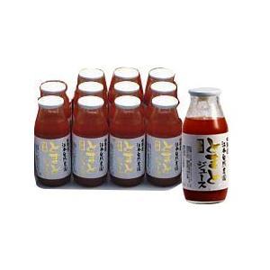 トマトジュース無農薬(無塩・無添加) 11で1本無料160ml (11本+1本)