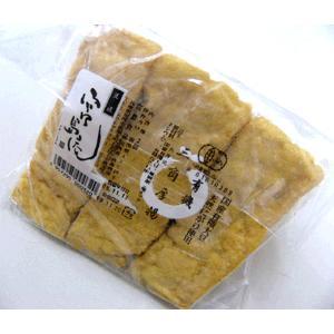 有機三角厚揚 国産有機大豆・天然にがりで固めた豆腐を切って有機菜種油で揚げました。安全と美味しさにこ...