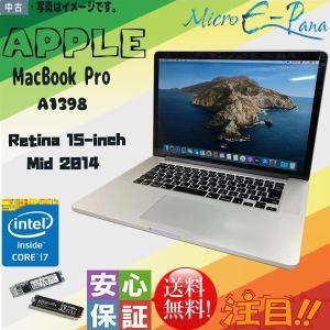 中古パソコン HD Apple(アップル) Core i7 MacBook Pro A1398 15...