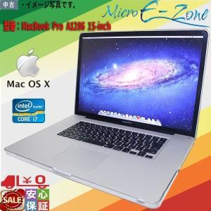 中古ノートパソコン Apple MacBook Pro A1286 15-inch Early 20...