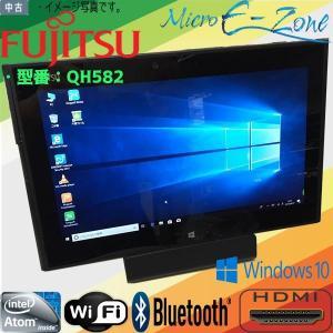 中古タブレット Windows10 1366x768 HD 富士通 FARQ55J QH582 At...
