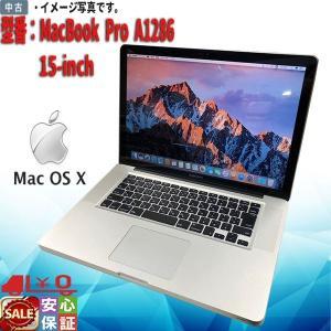 中古ノートパソコン Apple MacBook Pro A1286 15-inch Intel Co...