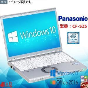 ワイヤレス Windows10 超高速 中古レッツノート Panasonic フルHD CF-SZ5...