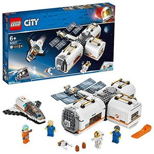 AP:レゴ LEGO シティ 変形自在! 光る宇宙ステーション 60227 ブロック おもちゃ 男の...
