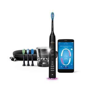 AP: フィリップス ソニッケアー ダイヤモンドクリーン スマート 電動歯ブラシ ブラック HX99...