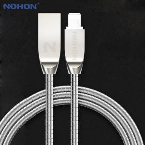 送料無料 NOHON 8pin USB ケーブル ios 7 8 9 10 付 iphone 7 6 6 s プラス 5 5 s SE iPad iP yuuuuuu26