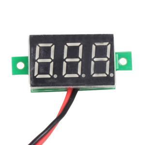 全国送料無料 Ledレッドライト車電圧計ミニdc 2.5-30ボルトデジタルパネル車電圧measurゲージ3-Display電圧計カーアクセサリー yuuuuuu26