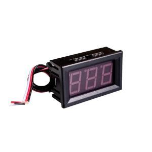 全国送料無料 電子部品 LCD 10ピース0.56インチlcd dc 4.5-30ボルトレッドledパネルメータデジタル電圧計で二つのワイヤー電気機器電圧メートル|yuuuuuu26