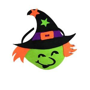 全国送料無料 コスチューム ハロウィーン 1 ピースおかしい魔女ハロウィンゴーストカボチャヘッドバンドヘッドドレスハロウィン衣装パーティー用品ためマルディ|yuuuuuu26